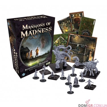 Mansions of Madness: Second Edition – Suppressed Memories – Figure & Tiles Collection